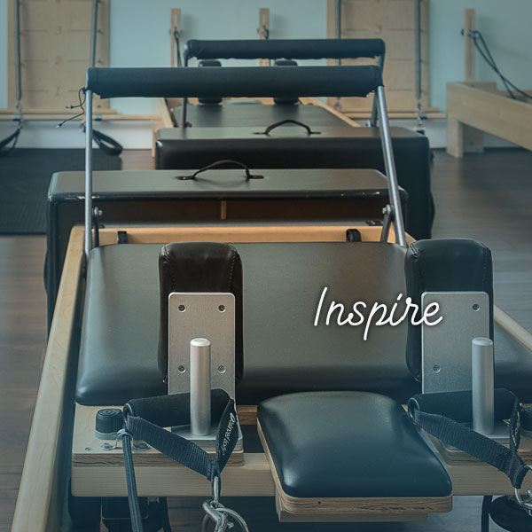 Inspire Class Inspire is a class designed to inspire you with the fundamentals of reformer Pilates whilst utilising all available apparatus at Pilatestry Studios.