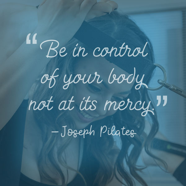 Nat Abdala Joseph Pilates Quote