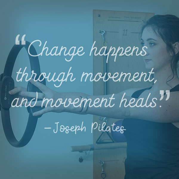 Ally North Joseph Pilates Quote
